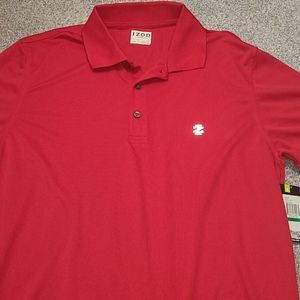 Izod polo golf shirt men's size large